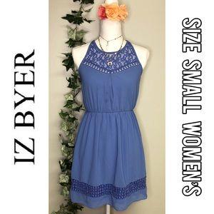 IZ Byer blue dress